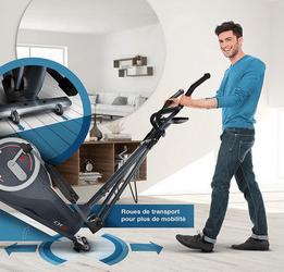 Test vélo elliptique SportsTech CX625